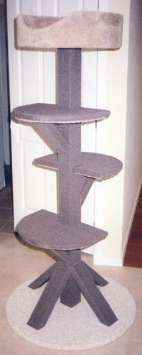 D3 all-sisal cat tower